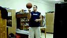 Basketball spinning/ Kosárlabda pőrgetés