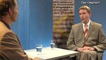 Bibel TV das Gespräch Dem Himmel nah, Lars Fischer Abteilungsleiter in der Luftfahrtindustrie