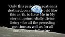Reasons of God's Incarnation