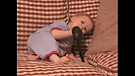 Cute Baby Laughs at Spoon