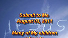 Submit to Me - August 03, 2011