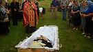 Funeral of Anna Voloshin Part 3
