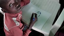 Crayon Mirror: Children of Kenya Draw with Jesus