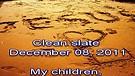 Clean slate – December 08, 2011
