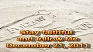 Stay faithful and follow Me – December 21, 201...