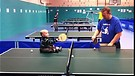 Baby Plays Ping Pong