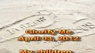 Glorify Me – April 03, 2012