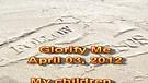 Glorify Me – April 03, 2012