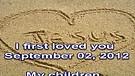 I first loved you – September 02, 2012