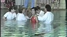 Mass Baptism in Moscow in August 1991