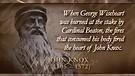Puritan Storm Rising: John Knox (1505-1572)