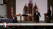 Roger Wu Celebrating First Taiwanese Presbyterian
