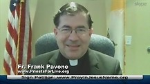 Court to make Priest violate Confessional Secrecy? Father Frank Pavone – 10-30-14