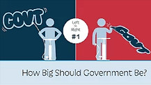 How big should Government be?