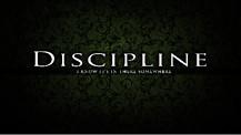 The Discipline of Self-Control
