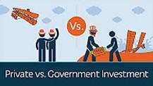 Private vs Government Investment