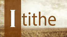 iTithe - Part 2