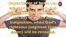 DIVINE JUDGMENT IS GODS LOVE