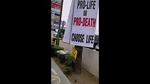 Pro-Abortionist Defeated Because of These Protesters at Planned Parenthood in Van Nuys, CA