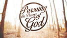 Pursuing The Presence of God - Pastor Dusty Brown