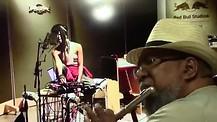 Pastor Lockett On The Flute