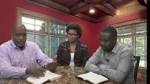 Pastor Gale Oliver -guests  Ashley Cyprain and Bishop Henry Mukisa #1