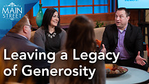 Darren Munn & Alia Wolaver | Leaving a Legacy of Generosity | Main Street