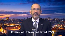 Festival of Unleavened Bread 5779