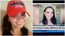 Stripped of her Title! Should beauty queens be punished for supporting the President?