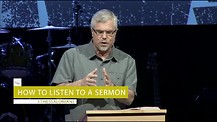 How to Listen To A Sermon - Marvin Wodja | ELIM Church
