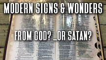 Bible Leaking Oil? Lying Signs & Wonders? 1/3