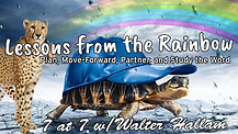 Lessons from the Rainbow; Relax and Don't Stress  - 7 at 7 with Walter Hallam