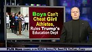 Boys Can't Cheat to Compete Against Girl Athlete...