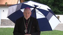 Desde el Claustro del Santuario a la Divina Misericordia en Wisconsin, EE.UU. Monseñor Jean Marie, s