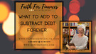 What to Add to Subtract Debt Forever, Sam Piercy