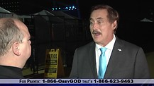 Mike Lindell (My Pillow) shares His Story of Crack Addiction and Path To Jesus