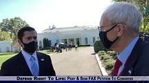 PIJN White House Correspondent Interviews Press Sec Brian Morgenstern