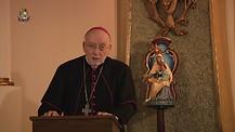 Monseñor Jean Marie hablando de las Almas del Purgatorio y la paciencia