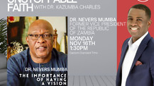 Developing Unstoppable Vision, Dr. Nevers Mumba