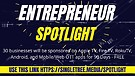 Entrepreneur Spotlight  - Coming Soon!