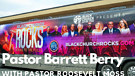 Pastor Barrett Berry presents guest Pastor Roose...