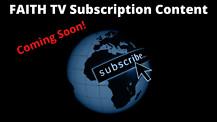 Faith TV Subscription Channel