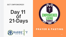 GET EMPOWERED! Day 11 of 21-Days - Wealth Creation for your Children's Children