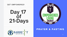 GET EMPOWERED! Day 17 of 21-Days