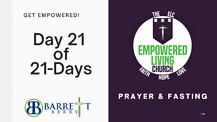 GET EMPOWERED! 21 of 21-Days - Walk in health . . . Walk in POWER!