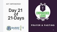 GET EMPOWERED! 21 of 21-Days - Walk in health . . . Walk in POWER!