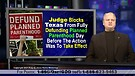 A Judge Blocks Texas From Fully Defunding Planne...