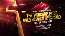 S2 E8 THE WORSHIP HOUR with PASTOR JOHN S. POPE