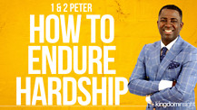 How To Endure Hardship | Dr. Kazumba Charles