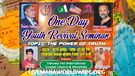 One Day Youth Revival Seminar - Live in Pakistan...